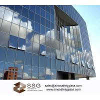 Best Blue, Green, Bronze Residential Glass Curtain Wall for Hotel, Shopping Mall wholesale