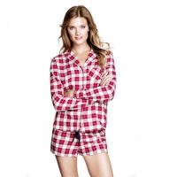China Short Pajama Sets HOME Cotton Girls Flannel Pyjamas on sale