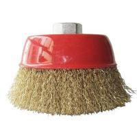 China Crimped Wire Cup Brush on sale