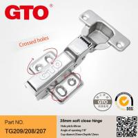 China TG208 Soft close hinges for kitchen cabinets on sale