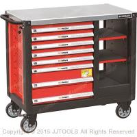 China Tool Storage Best High Quality Wide 8-Drawer Heavy Duty Ball-Bearing Tool Chest Workstation on sale