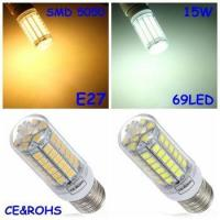 Best Led lamp&led replacement-> led e27 Corn bulb(15W/220V)replacement fluorescent light lamp wholesale