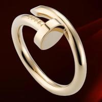 China Cartier JUSTE UN CLOU Collection 18K Pink gold Ring on sale
