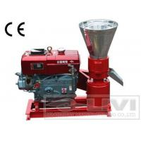 China Flat die diesel engine animal feed pellet mill on sale