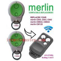 Buy cheap Title:For MERLIN cm844,cm128 compatible remote product