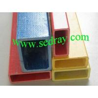 China GRP Pultrusion Profiles Square&Rectangular Tube on sale