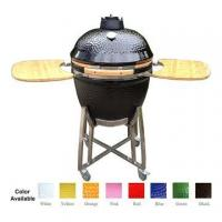 Buy cheap 23 Inches Large Ceramic BBQ Grill (Black) from wholesalers