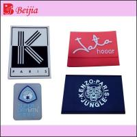 Best new design silicone label for garment wholesale