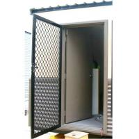China Portable Building Door Internal door with outward screen door on sale