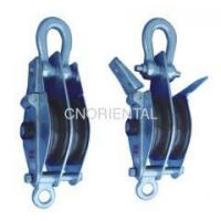 China double sheaves snatch block pulley two-sides open type on sale