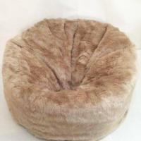 Best brown fur bean bag SH02-151001013 wholesale