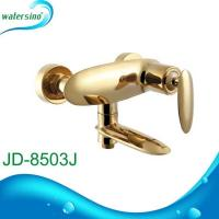China Newest style Golden shower faucet and bath mixer tap JD-8503J on sale