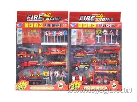 China CHENGHAI FEI SU ALLOY TOYS FACTORY Alloy fire combo JP3105