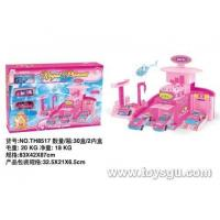Buy cheap Tian Hong Alloy Toy Factory Glide alloy Barbie car TH8517 from wholesalers