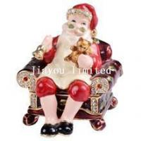 Buy cheap TBP0237-Christmas father jewelry trinket box gift from wholesalers