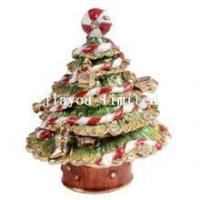 Buy cheap TBP0411-Christmas tree jewelry box ornament from wholesalers