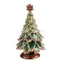 Buy cheap TBP0217-Christmas tree trinket jewelry box holiday decoration from wholesalers