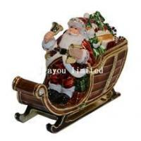 Buy cheap TBP1317-Santa Christmas trinket box from wholesalers