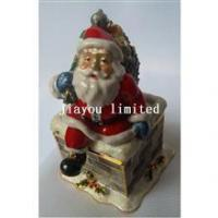 Buy cheap TBP1318-Santa with Sleigh christmas treasure box from wholesalers