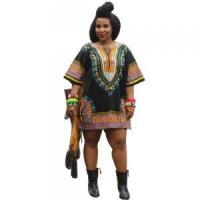 Best Sales Promotion Polyester Dashiki Shirt with Pockets 21422-6 wholesale