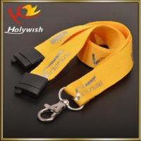 China Promotional Custom Silk Screen Printing Polyester Lanyard on sale