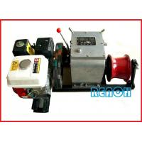 China 5Ton Honda engine powered winch for underground cable distribution on sale