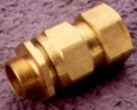 Buy cheap E1W DOUBLE COMPRESSION BRASS CABLE GLAND from wholesalers