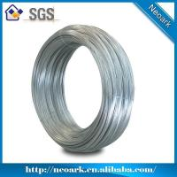 China Hot-dipped zinc plated galvanize wire on sale