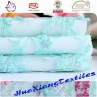 China EMBROIDERY FABRIC wedding embroidery lace fabric on sale