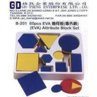 Buy cheap EVA attribute block set from wholesalers