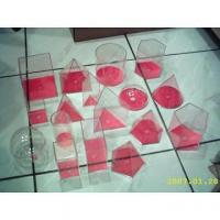 Buy cheap 17 shape 3D geo solids set (10cm,red cover) from wholesalers