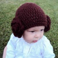 Buy cheap Baby Hat Crocheted Princess Leia Hat Newborn Princess Leia Hat from wholesalers