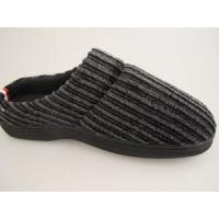 Best Normal Roonshoes The Beautiful Corduroy TPR Out-seem Warm Pink Men Slippers wholesale