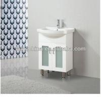 Best 2013 Glass Doors White Bathroom Cabinet 60cm (FM-A600LG) wholesale