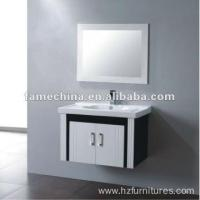 Best black and white classic bathroom cabinet wholesale