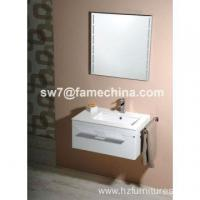 China Towel Rack High Gloss Wall Mounted MDF Bathroom Cabinet on sale