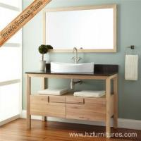 Buy cheap Wooden Color Bathroom Cabinet from wholesalers