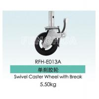 China Scaffolding Accessories Product  Swivel Caster Wheel with Break on sale