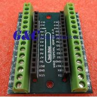Best 2PCS Nano Terminal Adapter the Arduino Nano V3.0 AVR ATMEGA328P-AU Module Board wholesale