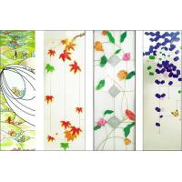 China patterned glass panel for door , window and screen on sale