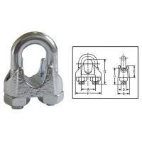 China DIN741 Malleable Wire Rope Clips on sale
