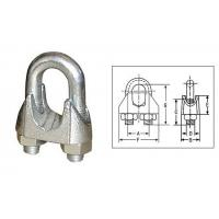 China BS 462 Hot Dipped Galv Malleable Wire Rope Clips on sale
