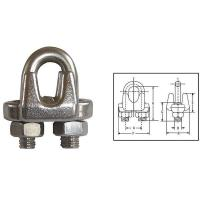 Best G450 US Type Drop Forged Wire Rope Clips wholesale