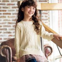 China 2-Way Cable Knit Sweater on sale