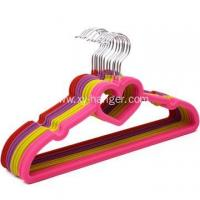 Buy cheap Flocked Suit Hanger with E Notches from wholesalers
