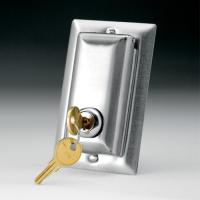 China Electric Screens Locking Switch Cover Plate on sale