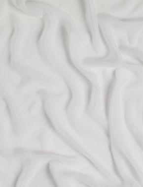Cheap Ivories Faux Silk Crepe Georgette Ivory for sale