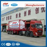Best 20ft Lox Lin Lar LNG Lco2 Tank Container Asme T75 ISO Tank Container For Liquid Gas wholesale