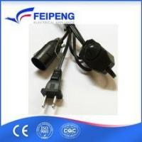 Buy cheap E12 lamp holder Female End Type and Home Appliance Application Electrical power cord from wholesalers