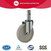 China Round Stem PP Industrial Castor on sale